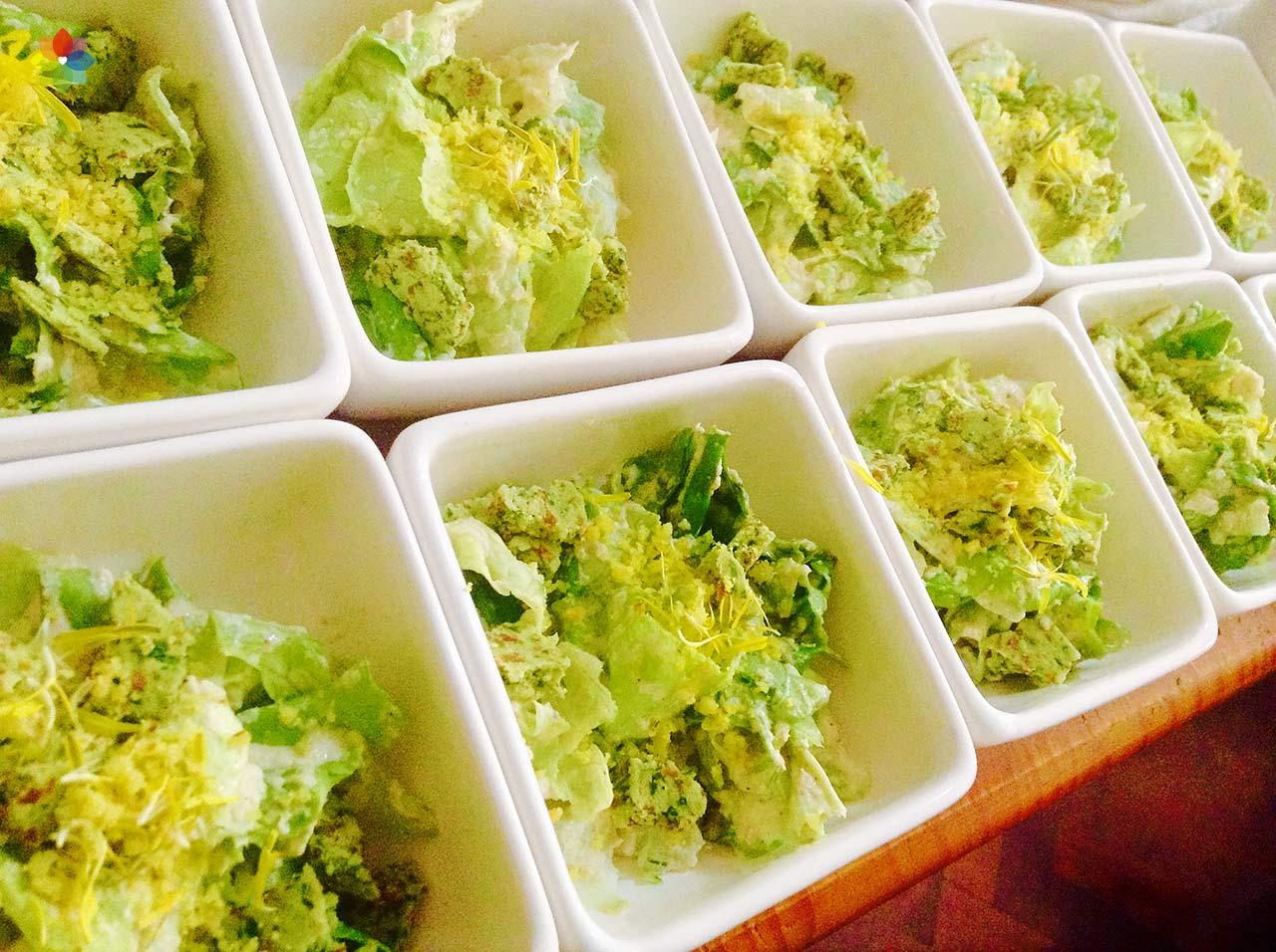 Clase de ensaladas y aderezos